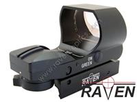 Εικόνα της Raven red dot Navy Point Sight Red - Green