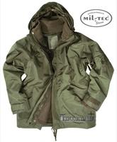 Εικόνα της Μπουφάν Αδιάβροχο Χακί Wet Weather Jacket Mil-Tec