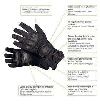 Εικόνα της Γάντια Vega Testoudo Compact
