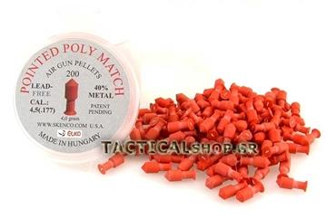 Εικόνα της Βληματάκι Skenco Pointed Poly Match 4.5 mm
