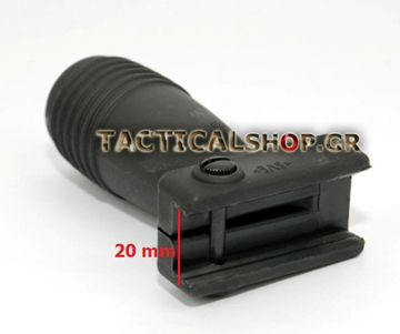 Εικόνα της Λαβή TDI Short Grip For Picatinny Rail/Weaver