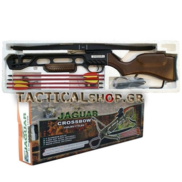 Εικόνα της Βαλλίστρα Jaguar Crossbow Wood 150 lbs