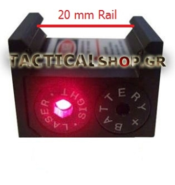 Εικόνα της Pistol Mini Red Laser Point Scope