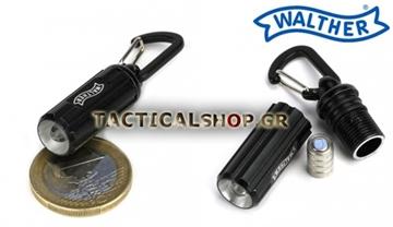 Εικόνα της Αλουμινένιος φακός Led της Walther Handy PML Microlight 12 lumens