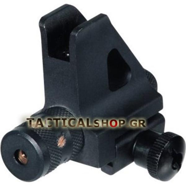 Tacticalshop - High Profile Removable Front Sight and Red Laser 7acdd027af4