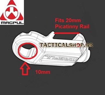 Εικόνα της Βάση αορτήρα Maglul RSA QD Rail Sling Attachment
