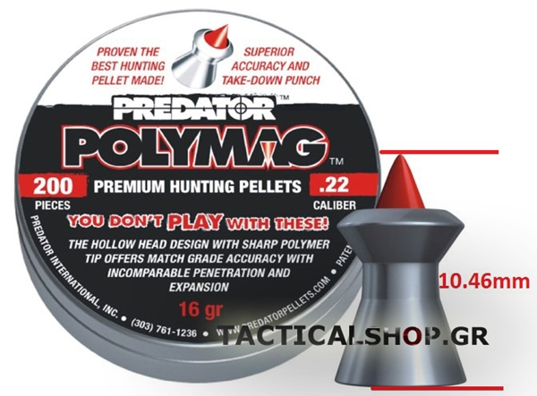 Picture of Predator Polymag JSB hollow point 5.5mm