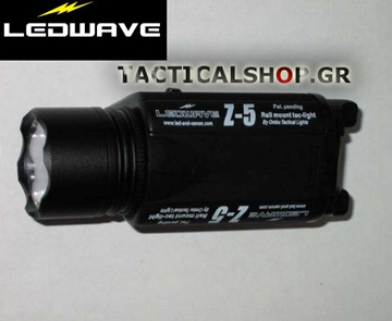 Εικόνα της Φακός όπλου Ledwave Z-5 Rail Mount Pistol Mounted Flashlight