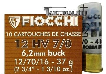 Εικόνα της Φυσίγγι κυνηγίου Fiocchi Ιταλίας 27βολα/37gr