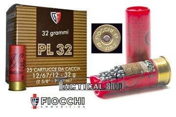 Εικόνα της Φυσίγγια Cal 12 Fiocchi classic Ιταλίας PL με σκάγια 32 gr
