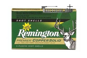 Εικόνα της Μονόβολα 12/70 φυσίγγια Hollow Point Remington Premier Copper Solid Sabot Slug