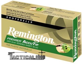 Εικόνα της Μονόβολο φυσίγγι 12/70 Remington Premier AccuTip Bonded Slug