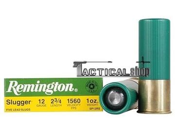 Εικόνα της Μονόβολο φυσίγγι 12/70 Remington Slugger Rifled Slug