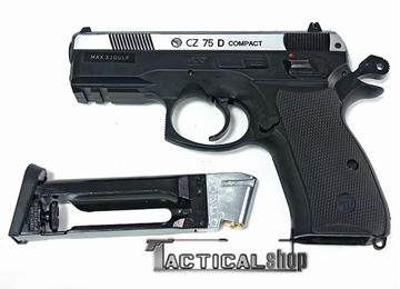 Εικόνα της Αεροβόλο πιστόλι Co2 ASG CZ 75D Compact Dual Tone 4.5 mm