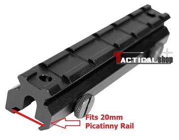 Εικόνα της Bάση επέκτασης ύψους picatinny rail 20mm