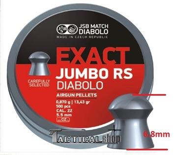 Εικόνα της JSB Jumbo RS μολυβένια βλήματα αεροβόλου 5.52mm