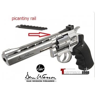 Εικόνα της Αεροβόλο περίστροφο Co2 ASG Dan Wesson 6'' Revolver 4.5mm Silver