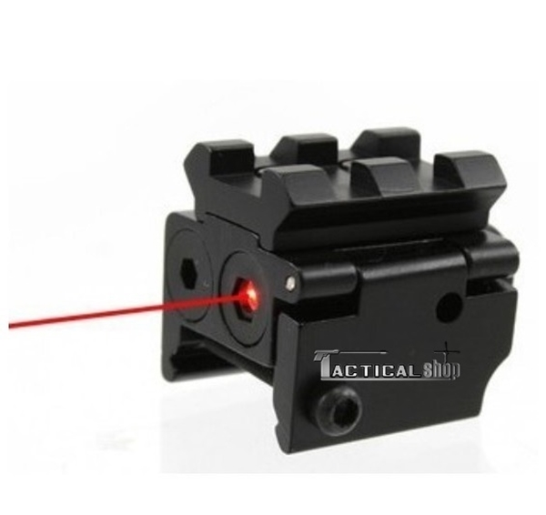 Picture of Micro Mini Pistol Red Laser Point Scope with Extend Top Rail