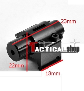 Εικόνα της Micro Mini Pistol Red Laser Point Scope