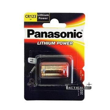Εικόνα της Μπαταρία Panasonic Lithium Power CR 123