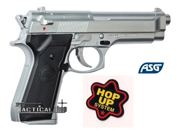 Εικόνα της Airsoft ΑSG Beretta M92 FS nickel 6mm bb