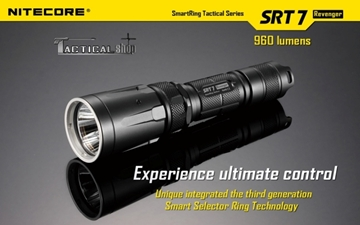 Εικόνα της Φακός Tactical Led Nitecore Smart Ring STR7 960 Lumens