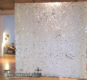 Εικόνα της Δίχτυ παραλλαγής σε απόχρωση του χιονιού 3 Χ 2,4