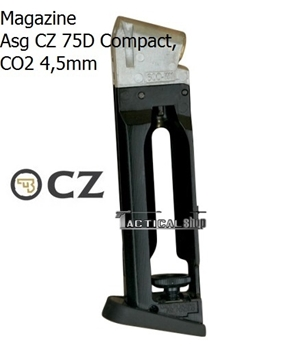 Εικόνα της Γεμιστήρας για αεροβόλο CO2 ASG CZ75D compact 4,5mm