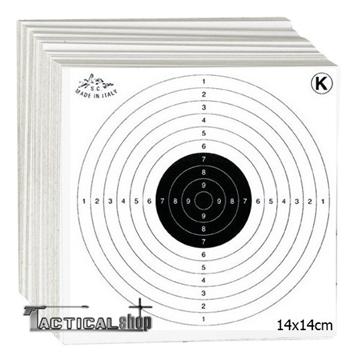 Εικόνα της Χάρτινοι στόχοι διαστάσεων 14Χ14 cm
