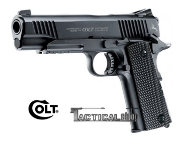 Picture of Airgun pistol Co2 Colt M45 CQBP black 4.5mm