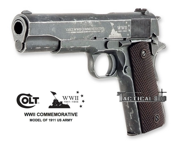 Picture of Aεροβόλο πιστόλι Colt WWII Commemorative 1911 4.5 mm