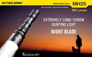 Εικόνα της Επαναφορτιζόμενος φακός Led Nitecore 960 Lumens Multi task Hybrid MH25