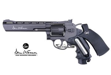 Εικόνα της Αεροβόλο περίστροφο Co2 ASG Dan Wesson 8'' Revolver 4.5mm black