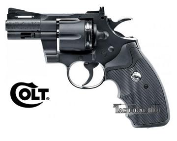 """Εικόνα της Αεροβόλο περίστροφο αμπούλας co2 Colt Python 2.5 """" BBs & pellet"""