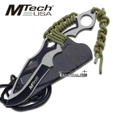 Εικόνα της Μαχαίρι λαιμού Neck knife Mtech Black Drop