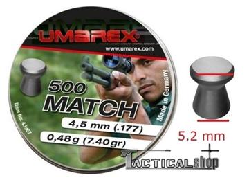 Εικόνα της Βλήματα Umarex Match 4.5mm