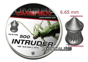 Εικόνα της Βλήματα Umarex Intruder 4.5 mm
