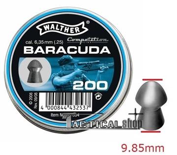 Εικόνα της Βλήματα Walther Baracuda 6.35 mm