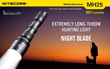 Εικόνα της Φακός Led Nitecore Multi Task Hybrid MH25 Hunting Kit