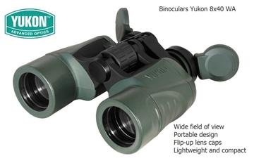 Εικόνα της Κιάλια Yukon Futurus 8x40 WA