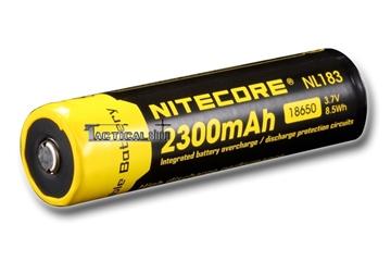 Εικόνα της Επαναφορτιζόμενη μπαταρία Nitecore Li-on 18650 / 2300mAh