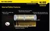 Picture of Επαναφορτιζόμενη μπαταρία Nitecore Li-on 18650 3200mAh