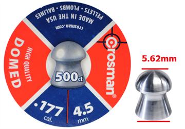 Εικόνα της Βολίδες αεροβόλου πομπέ Crosman Domed 4,5mm