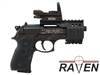 Picture of Raven Open Point Sight Red & Green dot