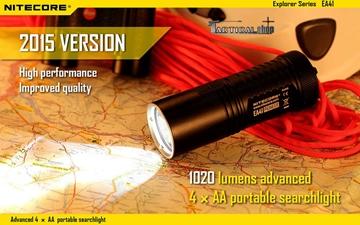 Εικόνα της Φακός Led Nitecore Explorer EA41 2015 Edition 1020 Lumens