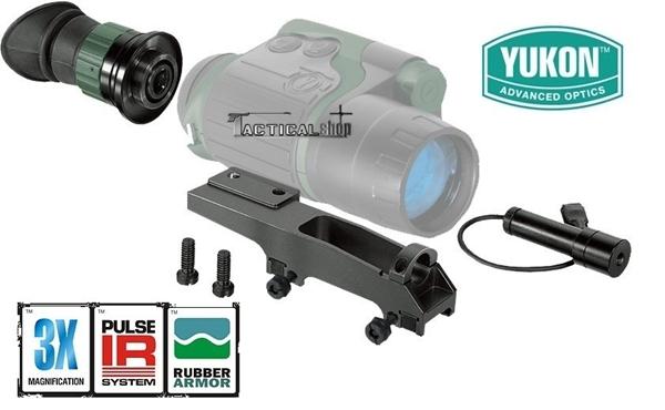Picture of Μονόκυαλο νυχτερινής όρασης Yukon Spartan 3x42 Scope Kit Night Vision