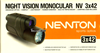 Picture of Μονόκυαλο νυχτερινής όρασης Yukon Newton 3x42 Night Vision