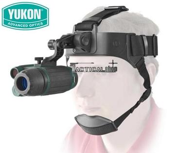 Εικόνα της Μονόκυαλο νυχτερινής όρασης κεφαλής Yukon Spartan 1x24 Head Mount