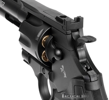 """Εικόνα της Αεροβόλο περίστροφο Co2 Colt Python Black 4"""" 4.5mm"""