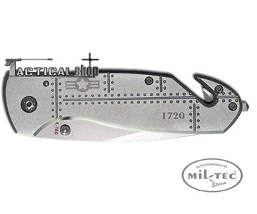 Εικόνα της Σουγιάς διάσωσης Mil tec Rescue Car Knife Airforce